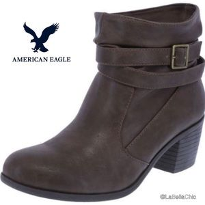 AE Slouchy Ankle Booties